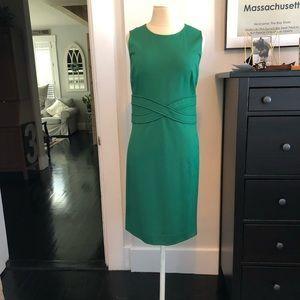 NWT DVF EVITA DRESS HUNTER GREEN